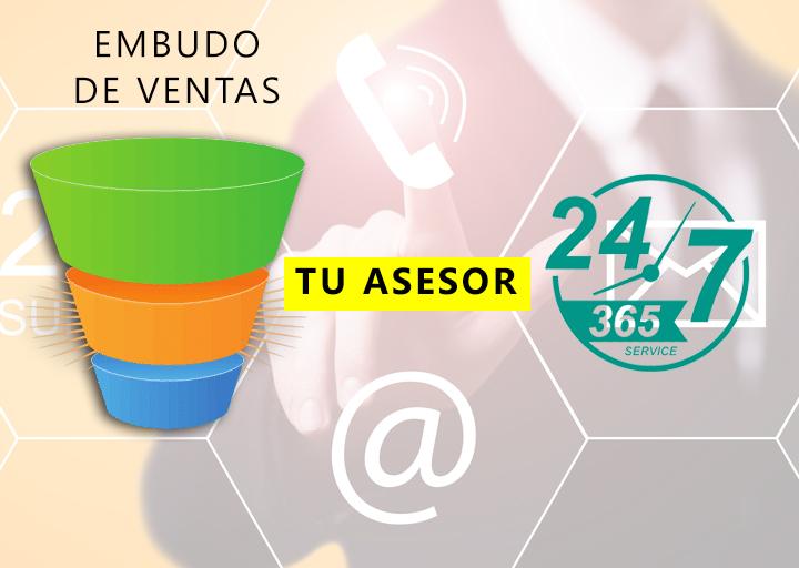 EMBUDO DE VENTAS TU ASESOR 24/7
